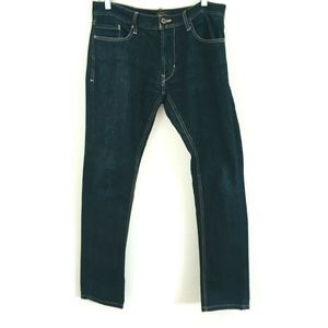 Zara Dark Wash Skinny Jeans 32x32